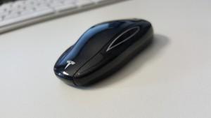 """Der """"Schlüssel"""" des Model S"""