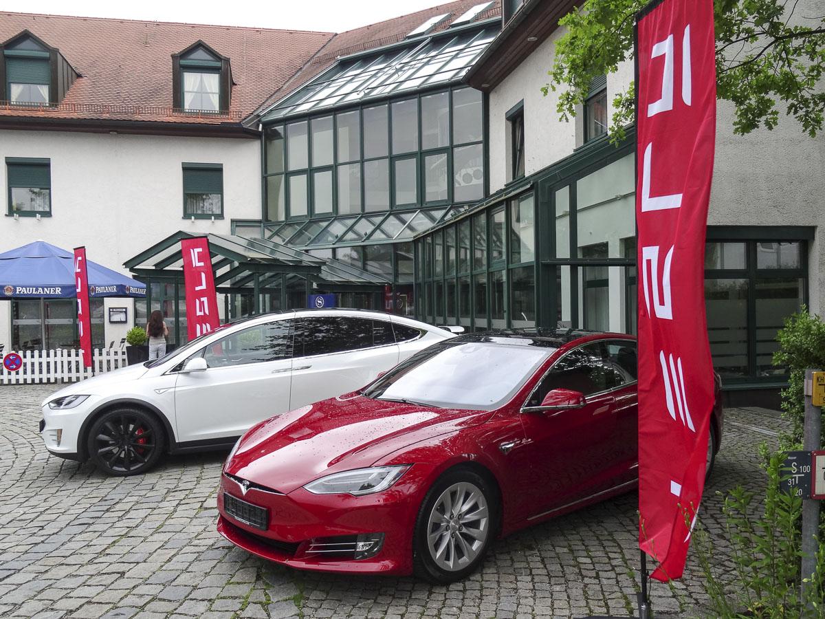 Model S und Model X mit dem neuen Facelift