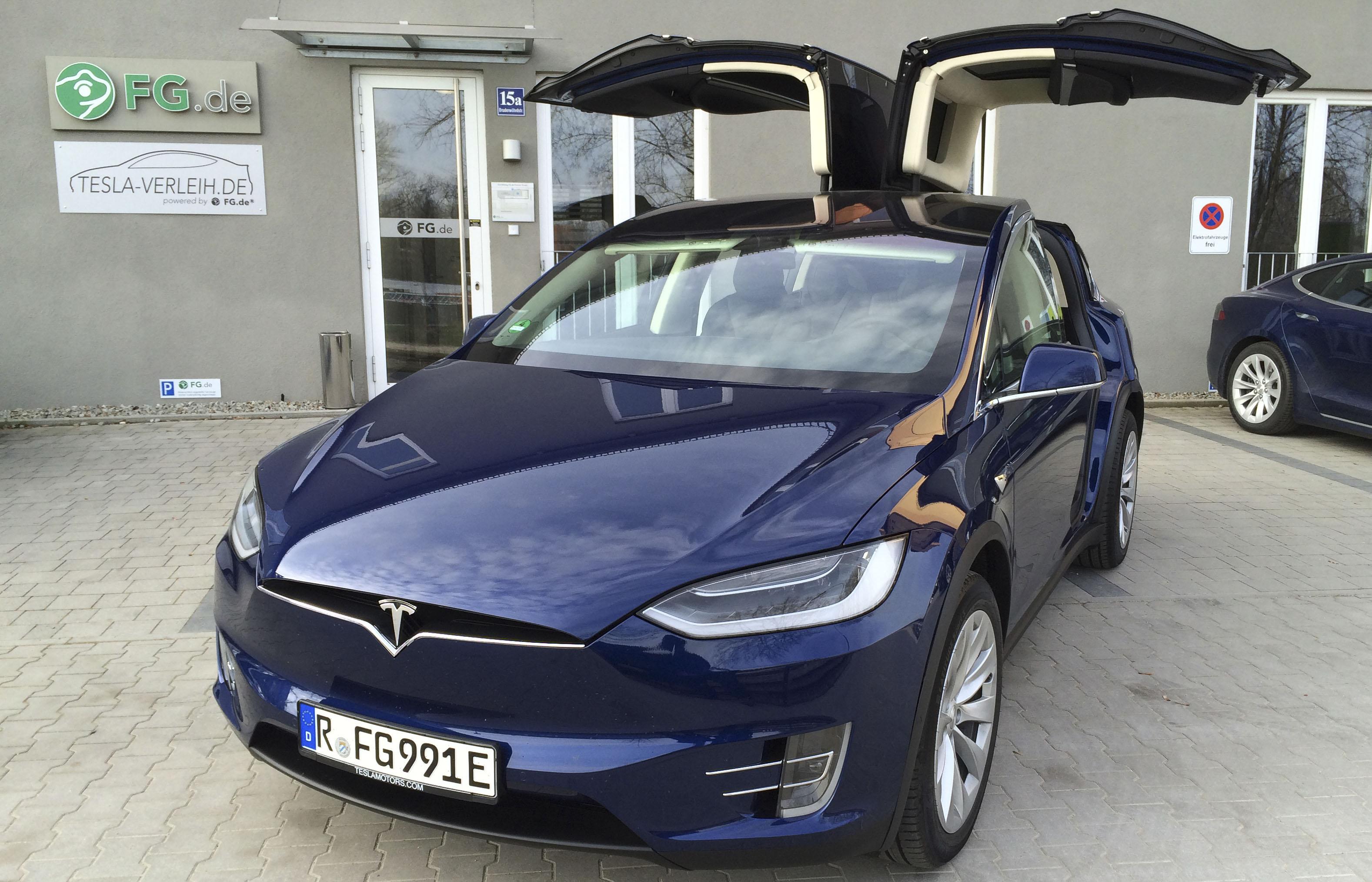 Tesla Verleih, Regensburg, Tesla Modelle X und S