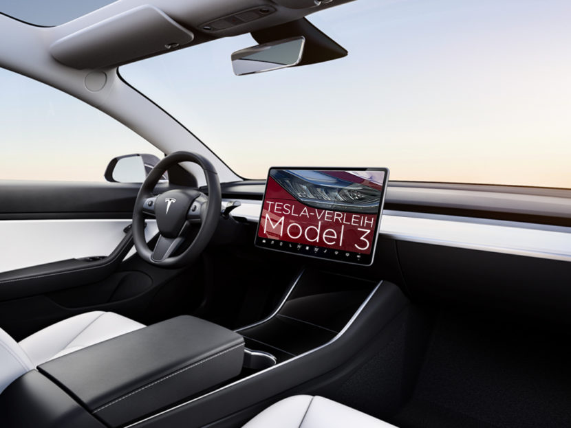 Tesla-Verleih.de Model 3